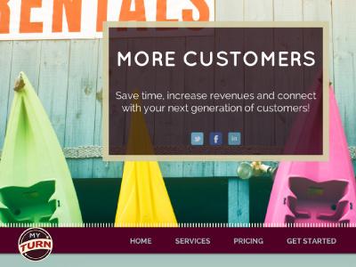 myTurn Shop rentals tools website software sporting goods