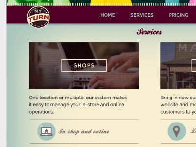 myTurn Shop services online shop inventory tools rentals