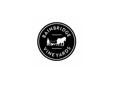 Bainbridge Vineyards Crest Logo winery vineyards bainbridge washington farmstead coop