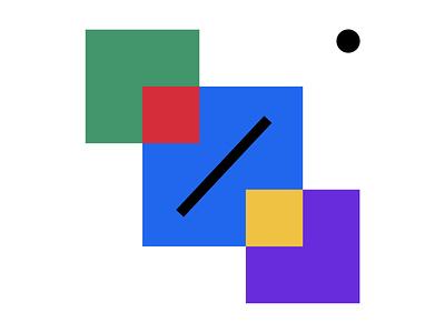 Geometric shapes II geometry formas shapes geometrical geometria colores colours colors ilustracion digital illustration diseño design geometric design geometric art geometric