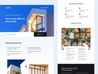 Real Estate Agency - Home Page