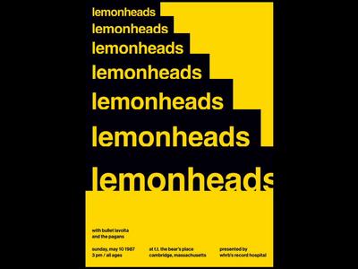 Lemonheads - Swissted Animated css gsap html illustration kinetic type kinetictype kinetic typography motion design motion poster poster art print print design typographic art typographic typography music music art animation 2d animation