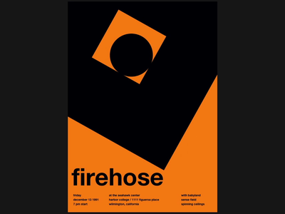 Firehose - Swissted Animated animation 2d animation music art music typography typographic typographic art print design print poster art poster motion motion design kinetic typography kinetictype kinetic type illustration html gsap css