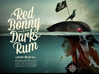 Red Bonny Rum Website