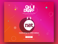 404 Page for Net Magazine