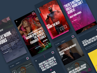 Boys+Girls Rebrand - Mobile