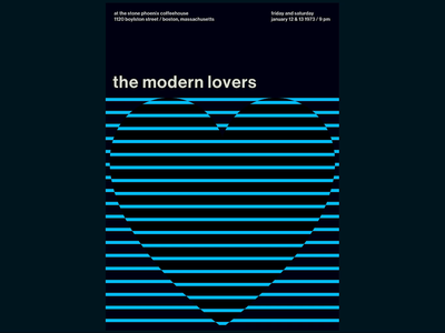 Swissted Animated: The Modern Lovers typography typographic svg print design print poster art poster motion design motion kinetic typography kinetic type illustration html gsap greensock animation 2d animation