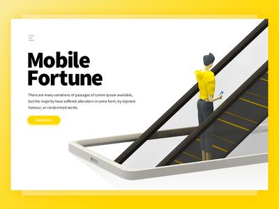Mobile Fortune Website