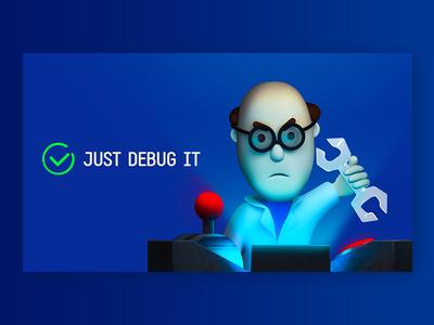 just debug it