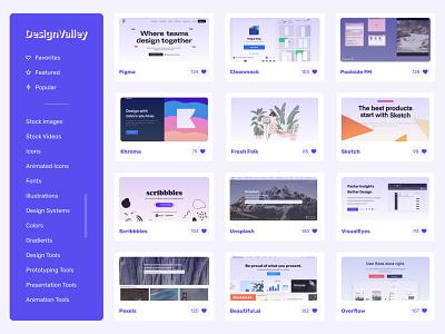 DesignValley - Tools designvalley uidesign app ux ui  ux uiux ui