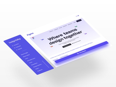 DesignValley - Tool page app isometric minimal user interface ui design uidesign uiux ux design ui