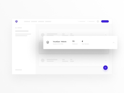 VisualEyes - Find my project wireframe ui design uidesign ux ui figma