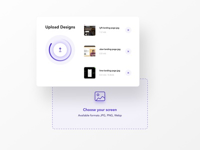 Upload your designs figma dropzone upload file uploading upload uidesing ui  ux ui ux uxdesign minimal user interface uiux uidesign ui design app ux design ui
