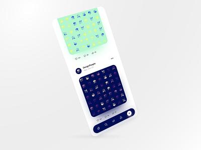 Explore Geometric Patterns - Part 2 ux ui isometric mobile app mobile mobile ui geometric art geometric patterns magicpattern