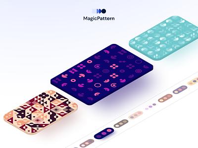 MagicPattern - New premium patterns uidesign uiux isometric ui pattern design pattern art patterns geometric pattern illustration