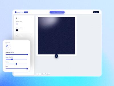 Blurry Gradient Generator mesh gradient gradient app user interface uiux ui design ux uidesign design ui