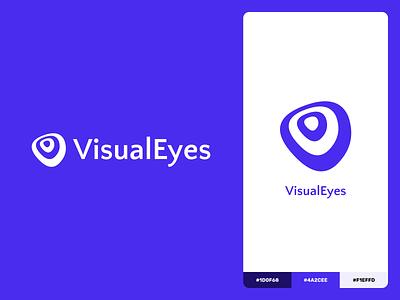 VisualEyes   Brand Identity logo visualeyes branding branding design brand identity brand design brand logo design logodesign logotype logos minimal design