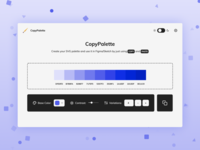 CopyPalette tool