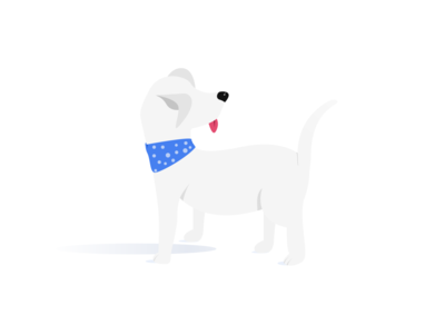 Excited Doggo figmadesign design love abstract figma happy dog vector illustration design illustrations illustrator illustration