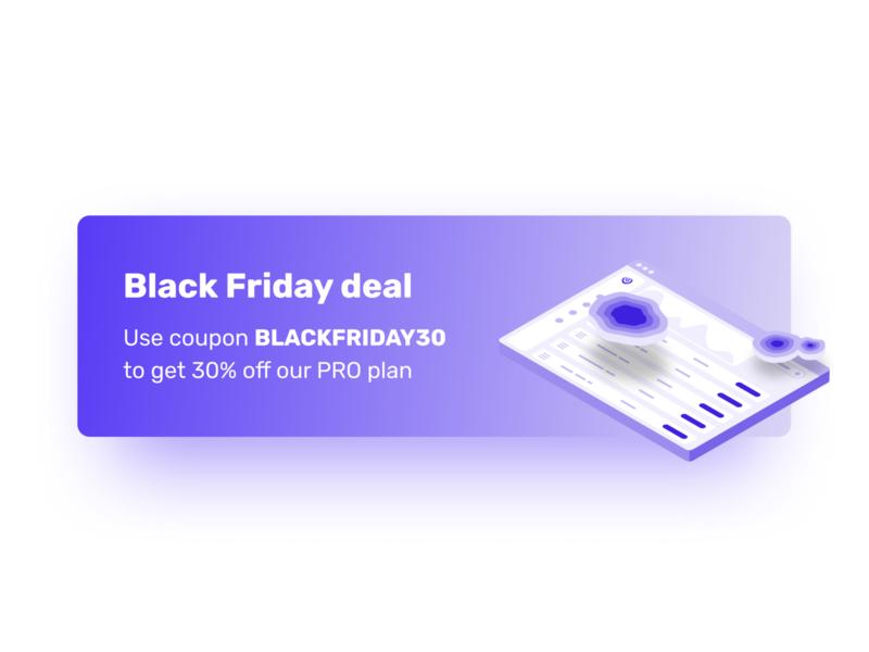 Black Friday deal sale blackfriday black friday sale black friday deal designer clarity heatmap ux design uxdesign ux  ui ux uxui ui design uidesign ui  ux uiux ui design visualeyes