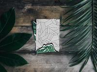 nature + pattern 🌿🖤