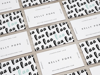 business cards 🖤