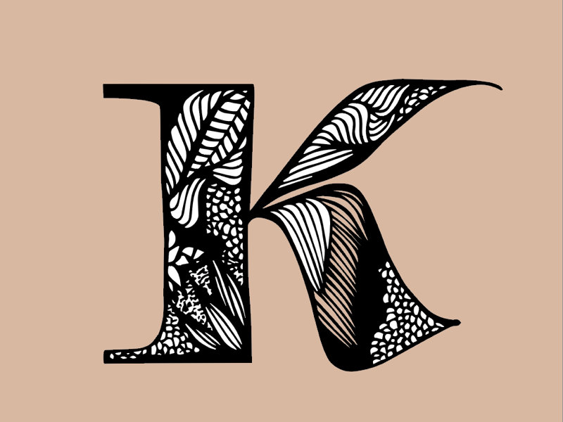 k with contrast