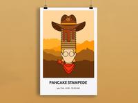 Pancake Stampede Poster