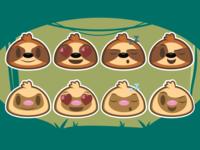 Sloth Emojis