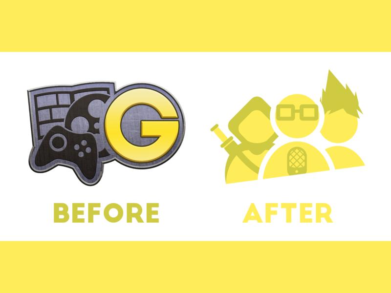 Geek Network Logo Redesign vector branding adobe illustrator design logo redesign identity branding brand identity logo