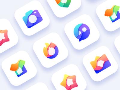 Icon Design 2 icon,colorful icon