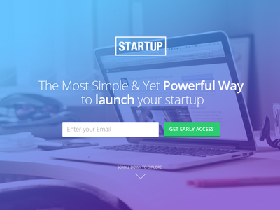 Unbounce Landing Page Template For Startups landing page landing template unbounce startup company demo coming soon launch trial signup subscribe