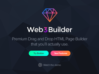 HTML Page Builder Landing Page