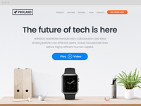 Proland   Product Landing Page Template