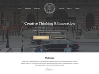 Education, University & College Website Template — Unisco