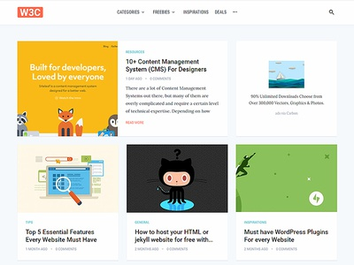 🔥 Live 🔥 Web3canvas Redesign startup html tutorials inspirations freebies design tech corporate redesign blog minimal web3canvas
