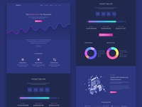 Cryptocurrency Software Saas Landing Page Template