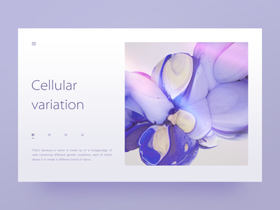 Abstract Fluid 01 light blue card abstract purple plate design ui c4d