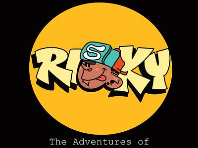THE ADVENTURES OF RISKY cartoon illustration motion design creative animation character design
