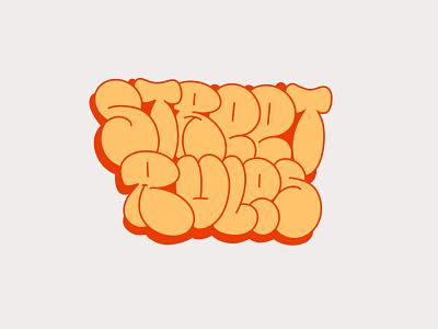 THROW UP graffiti throwup illustration