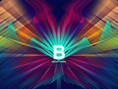 Boldoo design background motion design illustration