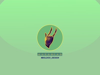 Hello everyone hand motion design illustration
