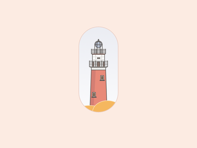 Lighthouse graphic ipadpro ipadproart affinity designer pastels artwork art vector illustration design