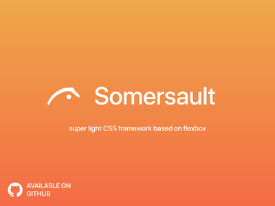 Freebie - Flexbox CSS Layout - Somersault