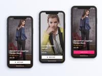Daily UI - AR Shopping App Screen