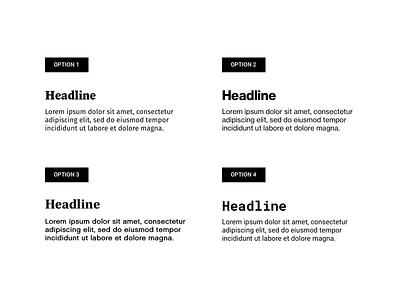Portfolio - Typesheet typography branding web interface ux ui design