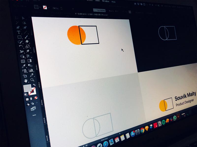 Logo Experiment minimal logotype logo design identity geometic brand identity vector flat typography icon logo illustration branding design