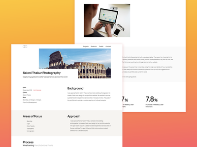 Case Study - Portfolio web branding app interface ux ui design