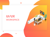 Work space landing page