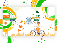 Happy Independence day(15 August)